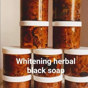 Whitening black herbal soap very active